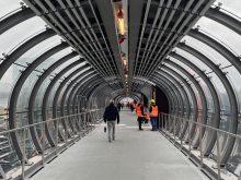 nouvelle passerelle gare de luxembourg ouverte
