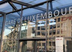 Gare de Luxembourg – Nouveau quai et nouvelle voie en service dès fin 2019