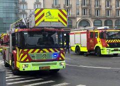 Gare de Luxembourg – Incendie du bâtiment principal – Secteur à éviter